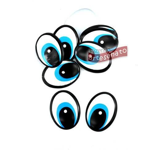 Olhos com travas para amigurumi | 500x500
