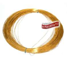 Foto ARAME LISO 0,8 MM OURO - KG